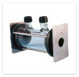 GAS CELL - ( WITH SEPTUM SEALED TUBULAR ENDING VALVE) : NaCl / KBr